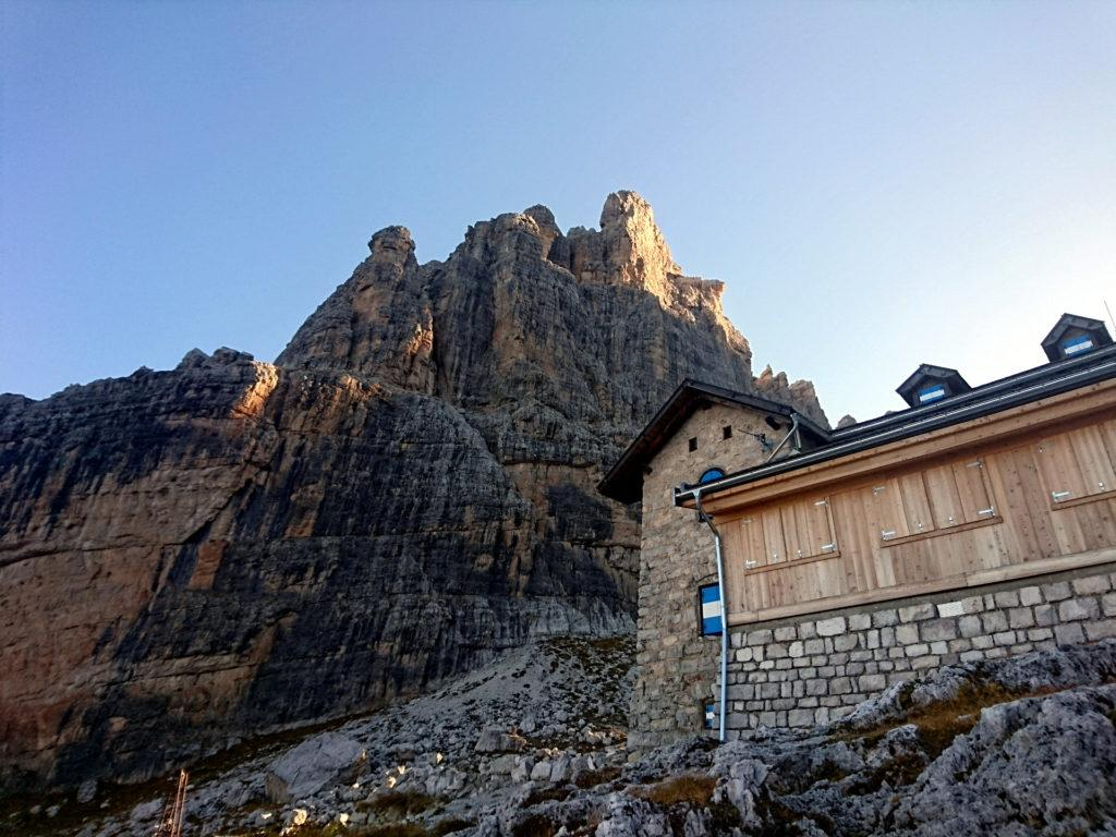 Castelletto Inferiore e Rifugio Tuckett