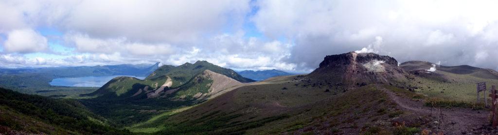 paesaggio dalla cima