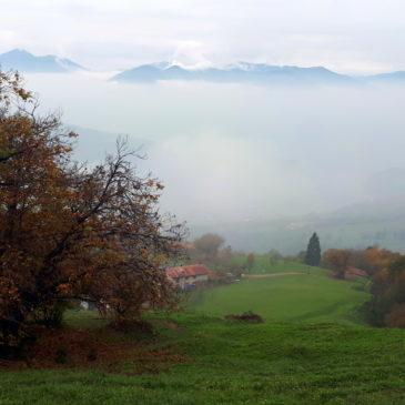 Anello di Punta Almana: montagna d'autunno e gastronomia bresciana
