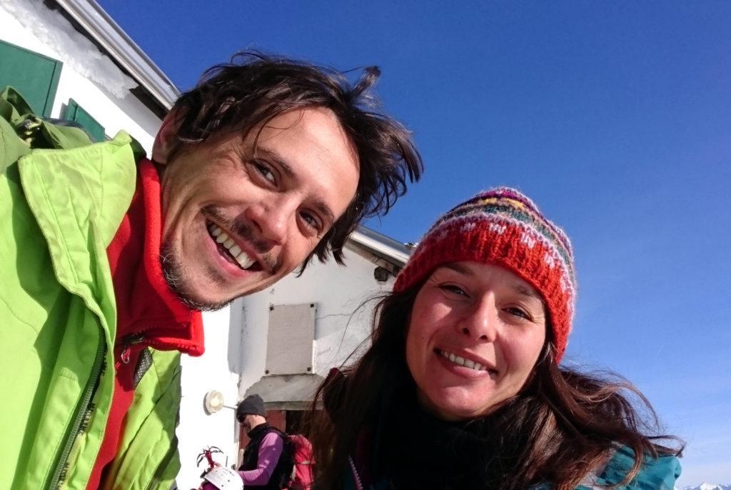 selfie di vetta col Brioschi