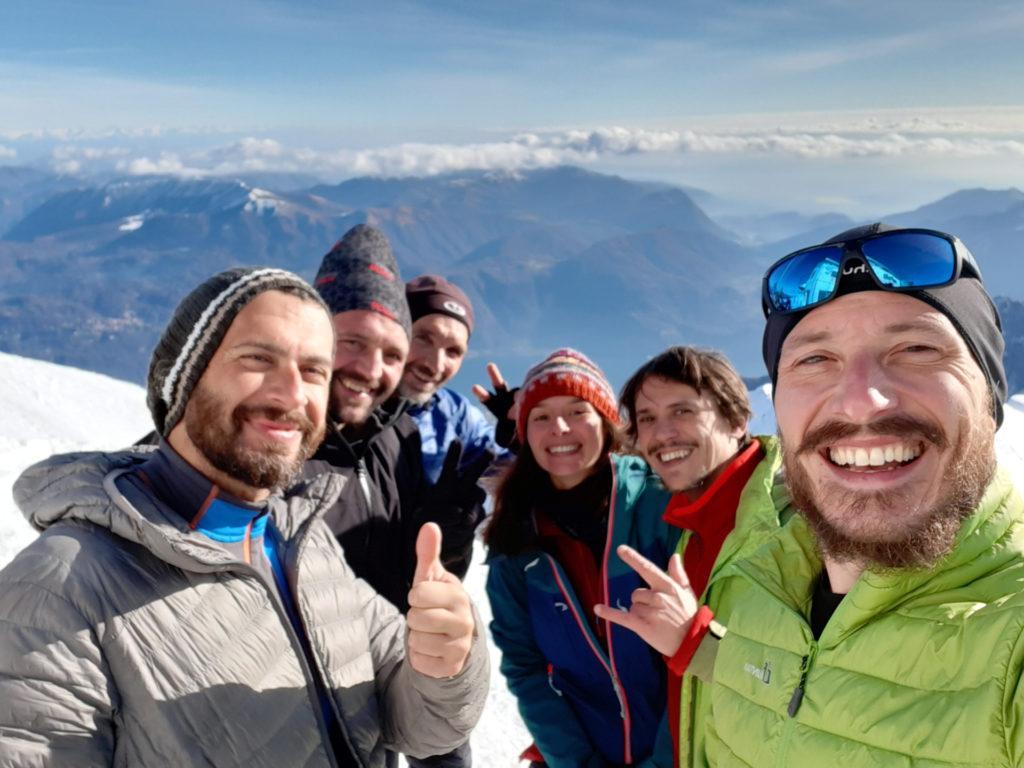 selfie con il gruppo al completo!