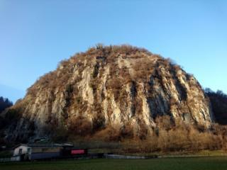 vista d'insieme della Rocca di Baiedo