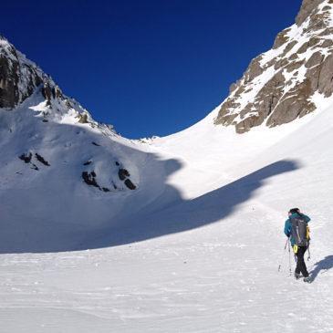 Pizzo dei Tre Signori in invernale, dalla Valle d'Inferno – Ornica: per buone gambe!