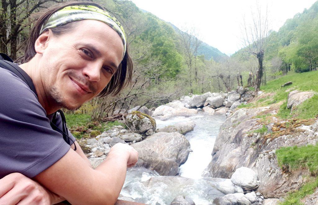 il bel torrente sotto la località Moledana