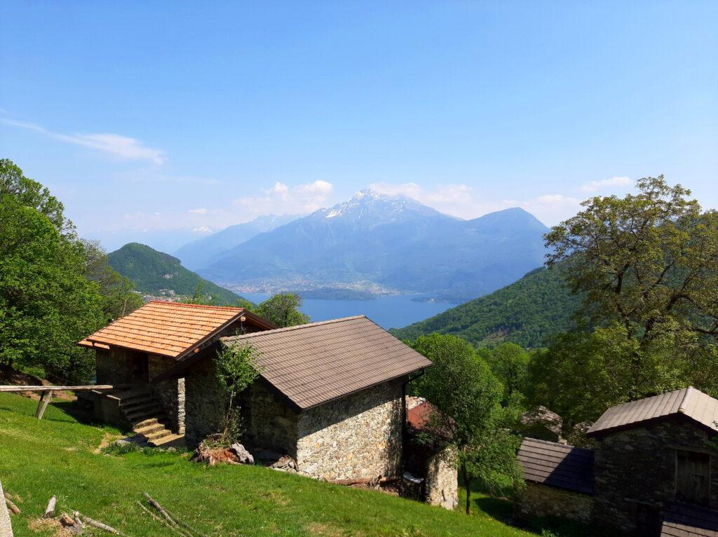 Ultimo sguardo verso il Legnone sul lato opposto del Lago di Como