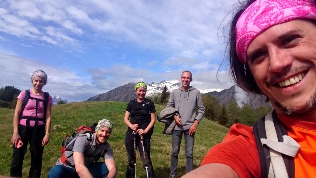 l'allegra cumbriccola all'Alpe Granda