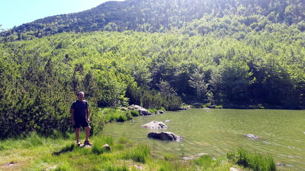Gab sulla sponda del Lago Nero