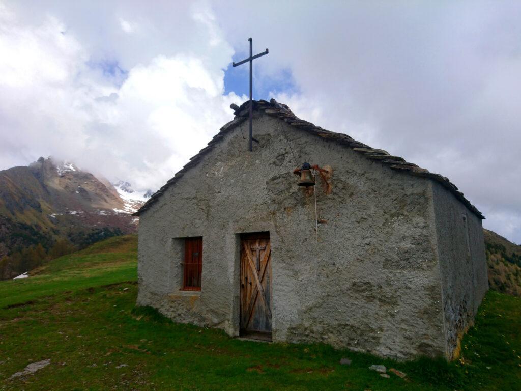 la facciata di San Quirico