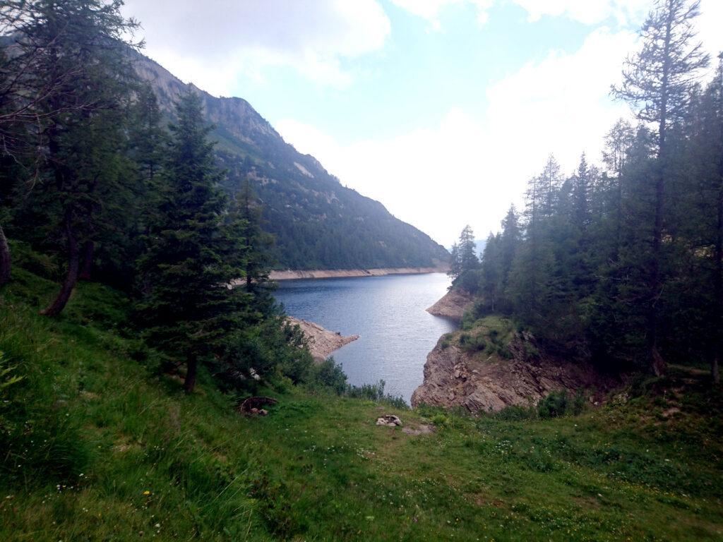 Il lago Piano Casere o il Lago Marcio.....ora non ricordo esattamente
