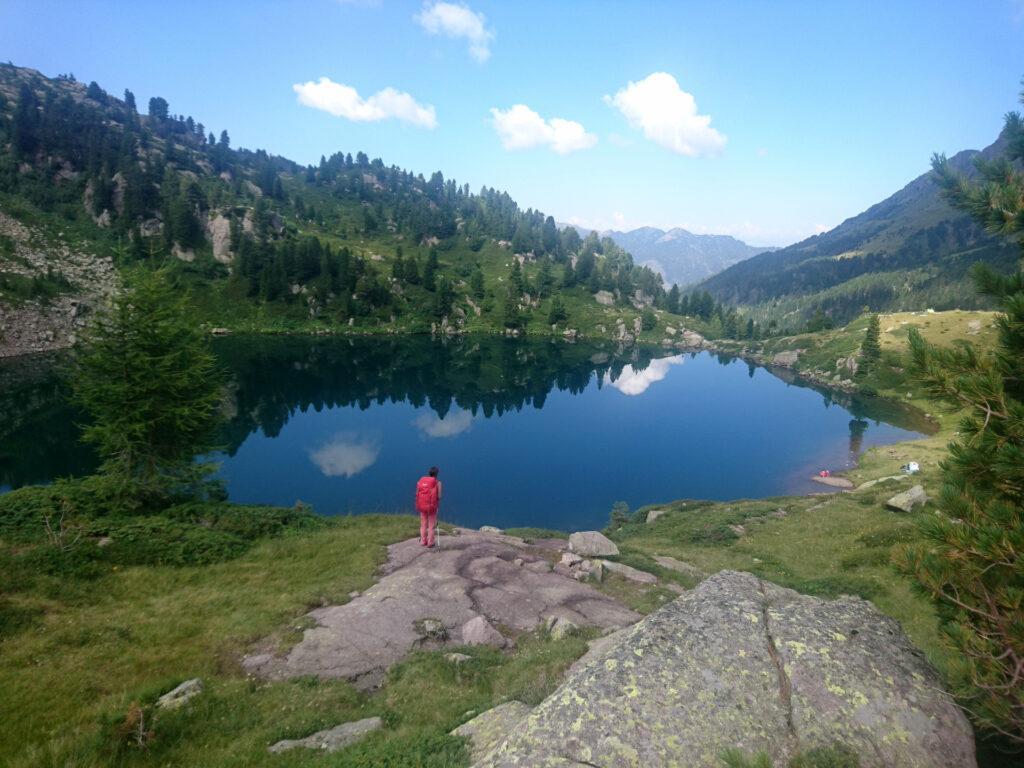 Lago delle Stellune: un paradiso per raggiungere il quale bisogna perdere un pochino quota, ma ne vale la pena