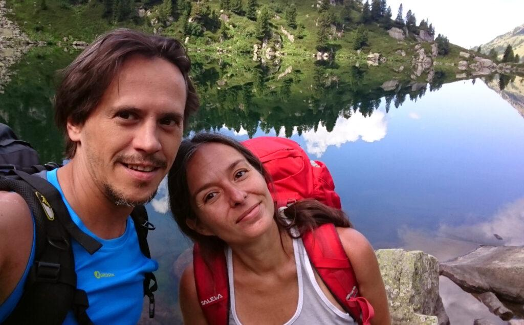 selfie moment: prima che la wilderness prenda il sopravvento abbiamo ancora un aspetto vagamente civile