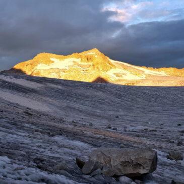 Cima Adamello dal Rifugio Lobbia Alta – attraversamento del ghiacciaio e giro Matarot – Mandrone in due giorni
