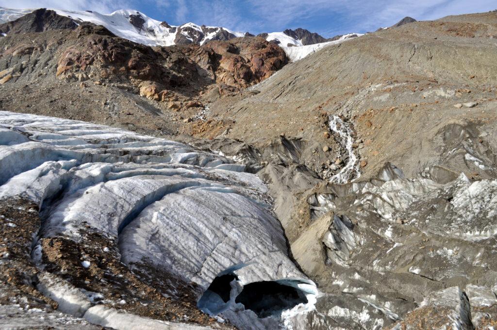 volte ghiacciate prossime al collasso