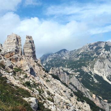 Cima Carega – anello dal Rifugio Cesare Battisti, Piccole Dolomiti