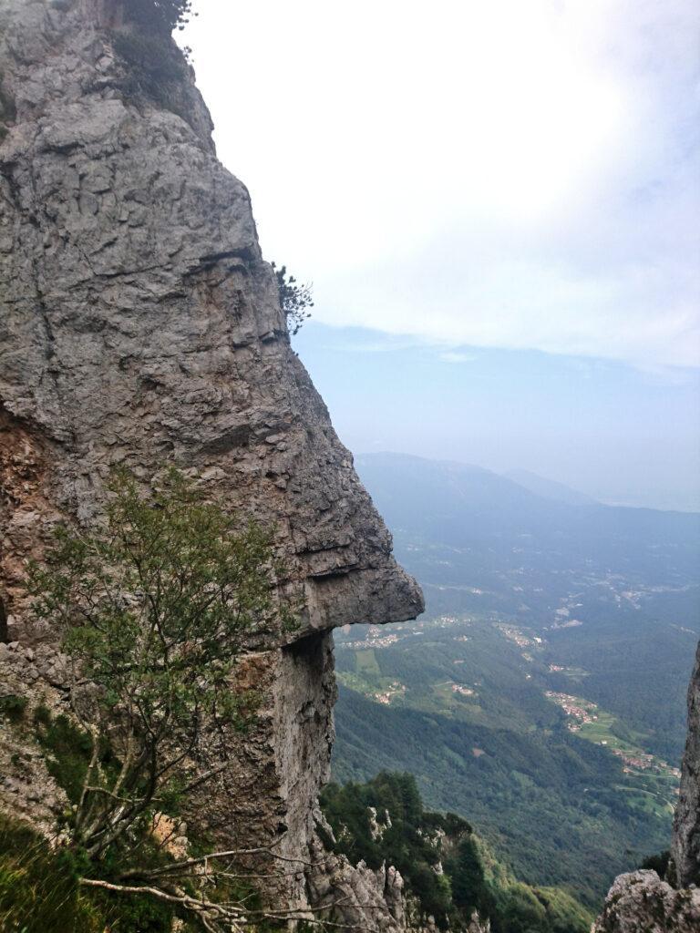 naso di roccia