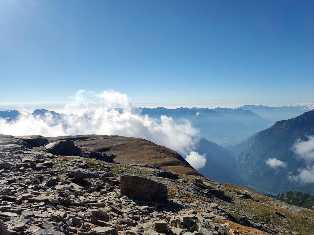 panorama dall'altopiano basso