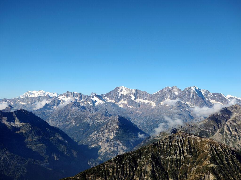 panorama dall'altopiano alto