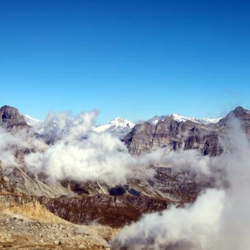 Monte Cistella dal Rifugio Crosta: la terrazza dell'Ossola
