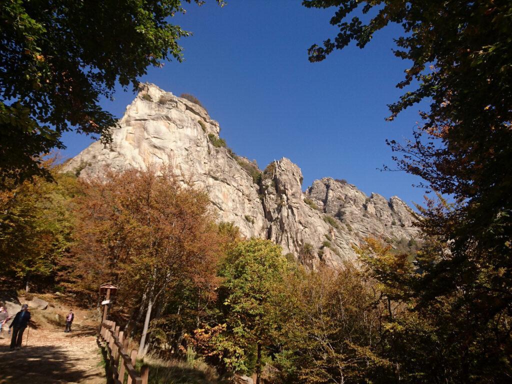 eccola la Rocca Sbarua! spettacolo