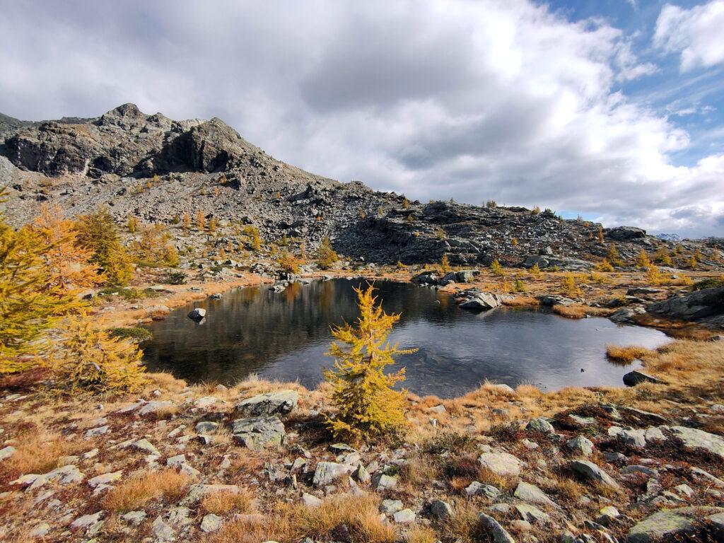 i laghi alpini al Passo de la Croix