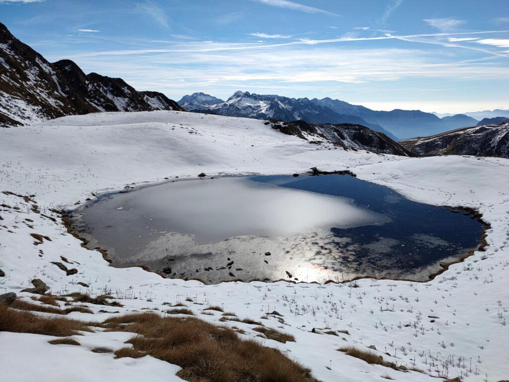 Primo dei laghetti di Montebello