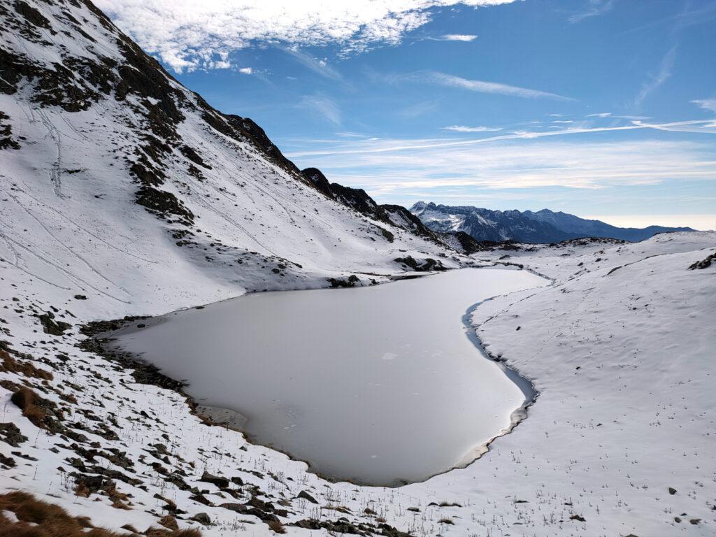 Il più grande dei laghetti di Montebello