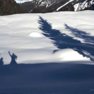 Lago di Valagola – facile escursione invernale ai piedi del Brenta