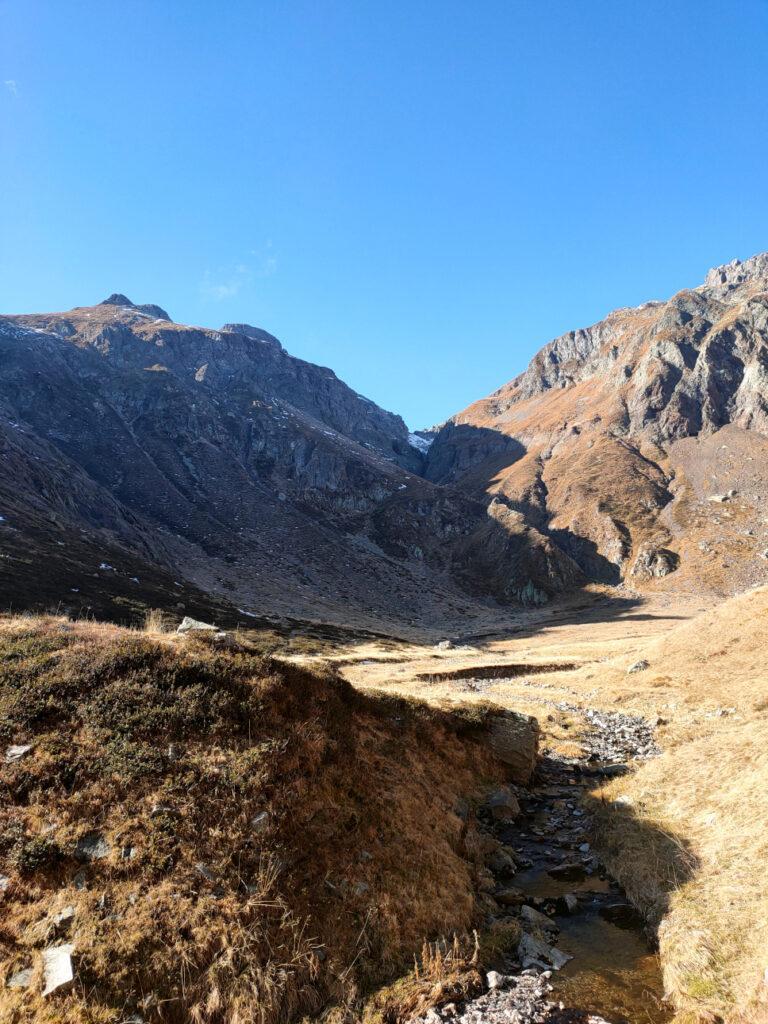 Verso il passo Valpianella