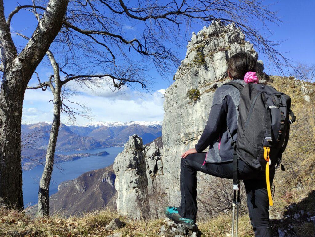 i bei pinnacoli rocciosi che caratterizzano la grignetta