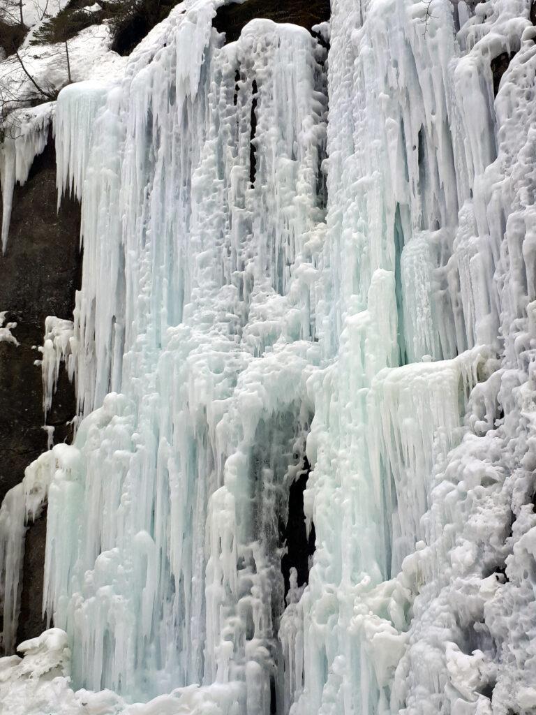 ...e grandi cascate, davvero bellissime