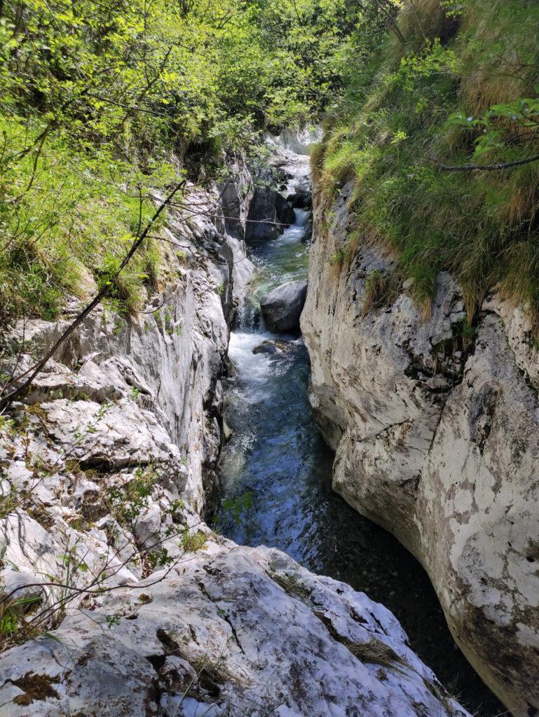 Altro bellissimo canyon del Parina