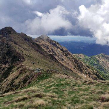Monte Barone da Coggiola, Cresta Sud-Est e giro ad anello