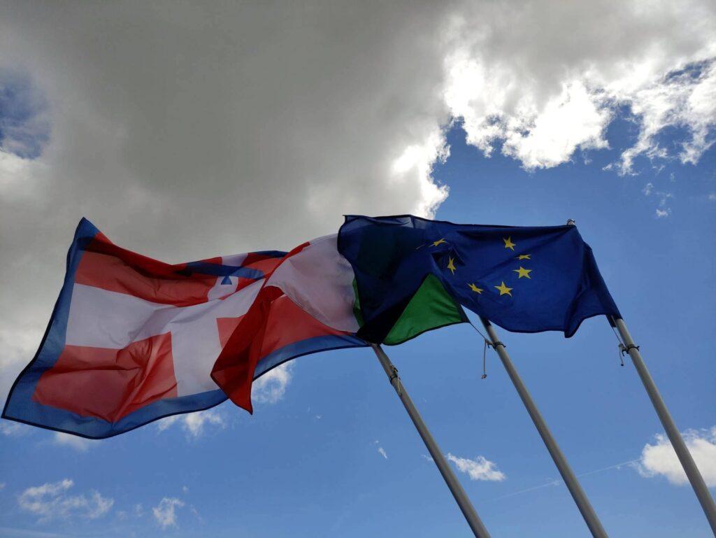 Le bandiere del Rifugio