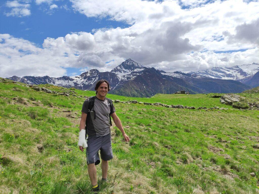 Rieccoci all'Alpe Cama dove ha ripreso a splendere il sole