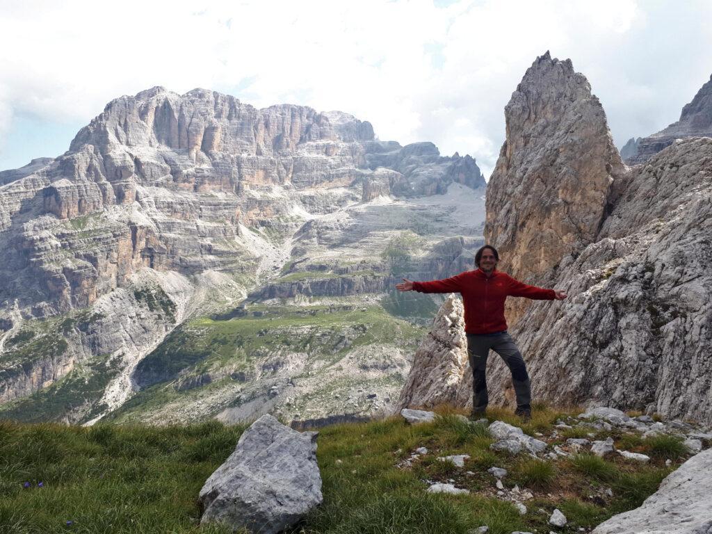 Bocchetta di Val Larga: va' che spettacolo!