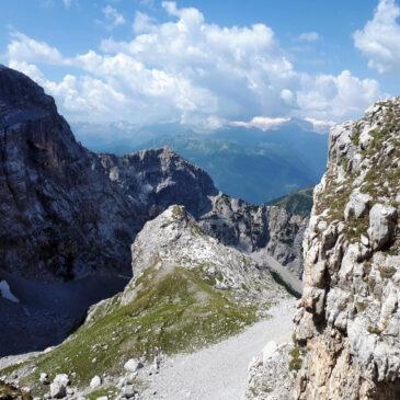 Bocchetta di Val Larga e Corno di Val Larga da Valagola: un percorso inconsueto