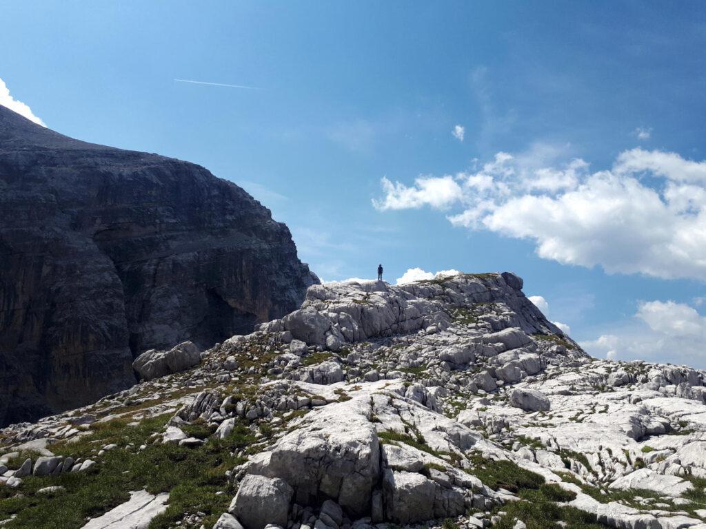 in cima al Corno di Val Larga